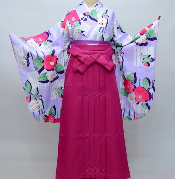 着物袴セット ジュニア用へ直し144cm~150cm ひさかたろまん 卒業式にどうぞ! 新品 (株)安田屋 266714283