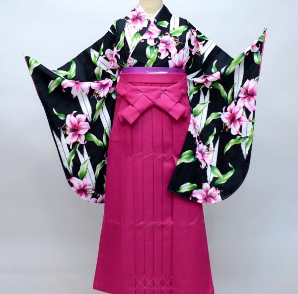 着物袴セット ジュニア用へ直し144cm~150cm ひさかたろまん 卒業式にどうぞ! 新品 (株)安田屋 m218293949