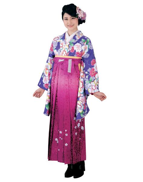 着物 袴セット ジュニア用へ直し 135cm~143cm H・L アッシュ・エル 卒業式にどうぞ! 新品 (株)安田屋 c663864387