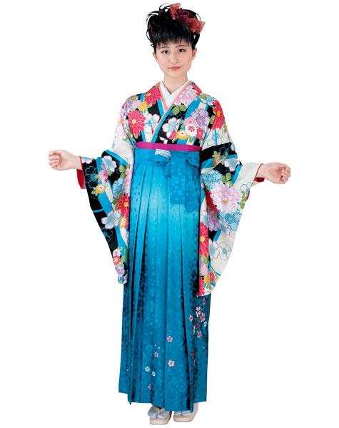 着物 袴セット ジュニア用へ直し 144cm~150cm H・L アッシュ・エル 卒業式にどうぞ! 新品 (株)安田屋 s591402387