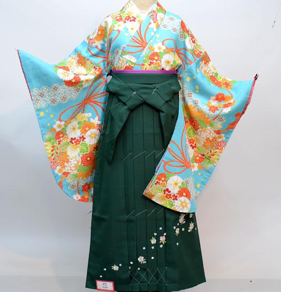 着物袴セット ジュニア用へ直し144cm~150cm 豪華絢爛 新品(株)安田屋 x560122823