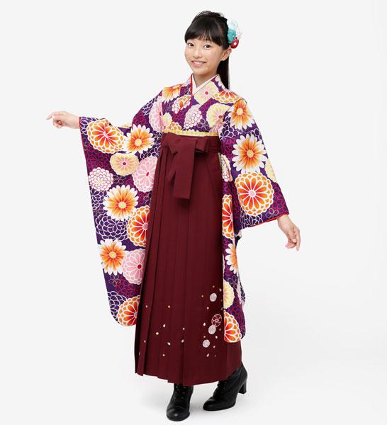 着物袴セット ジュニア用 145cm~154cm 小町 卒業式にどうぞ! 新品 (株)安田屋 o258795188