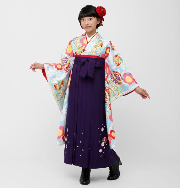 着物袴セット ジュニア用 145cm~154cm 小町 卒業式にどうぞ! 新品 (株)安田屋 o258795204