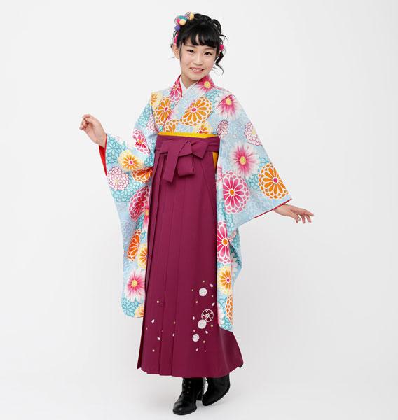 着物袴セット ジュニア用 145cm~154cm 小町 卒業式にどうぞ! 新品 (株)安田屋 o258795176
