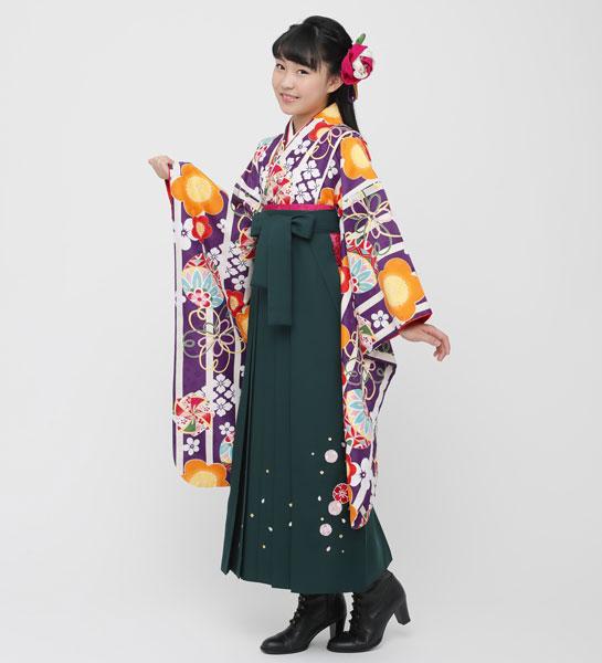 着物袴セット ジュニア用 145cm~154cm 小町 卒業式にどうぞ! 新品 (株)安田屋 o258795184