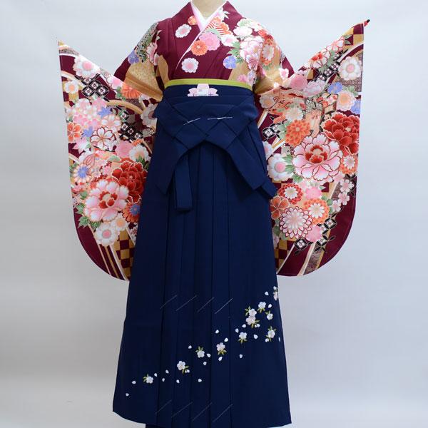 着物袴セット ジュニア用へ直し135cm~143cm From KYOTO 新品 (株)安田屋 212189785