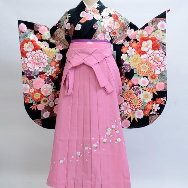 着物袴セット ジュニア用へ直し135cm~143cm From KYOTO 新品 (株)安田屋 212189757