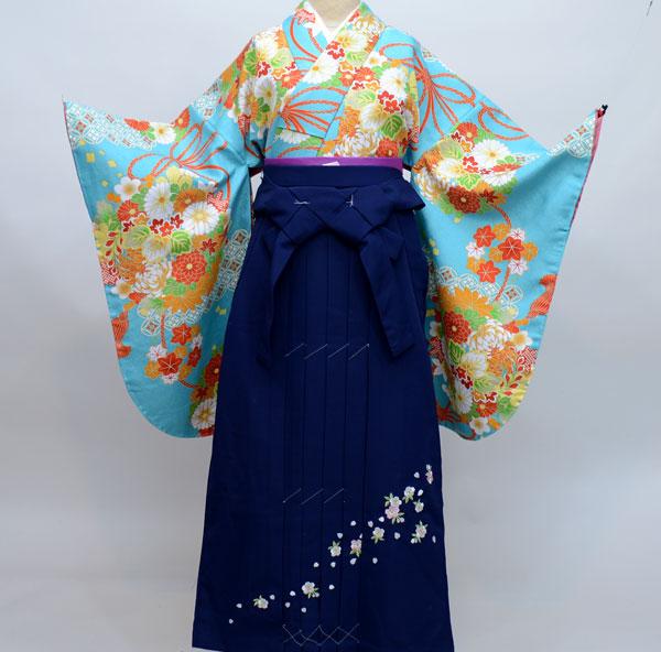 着物袴セット ジュニア用へ直し135cm~143cm 豪華絢爛 新品(株)安田屋 e254894989