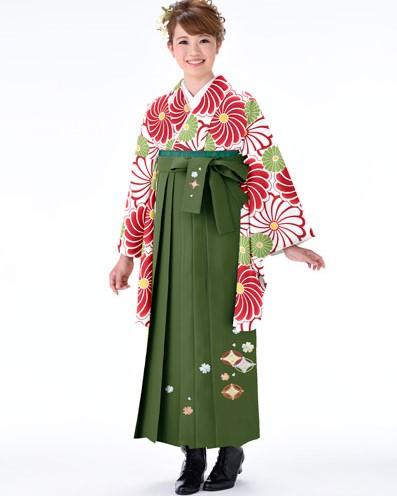 着物袴セット ジュニア用へ直し 144cm~150cm 着物生地は日本製 縫製と袴は海外 卒業式にどうぞ! 新品 (株)安田屋 g293778795