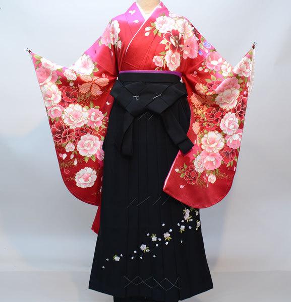 着物袴セット ジュニア用へ直し135cm~143cm From KYOTO 袴変更可能 新品(株)安田屋 m287533586