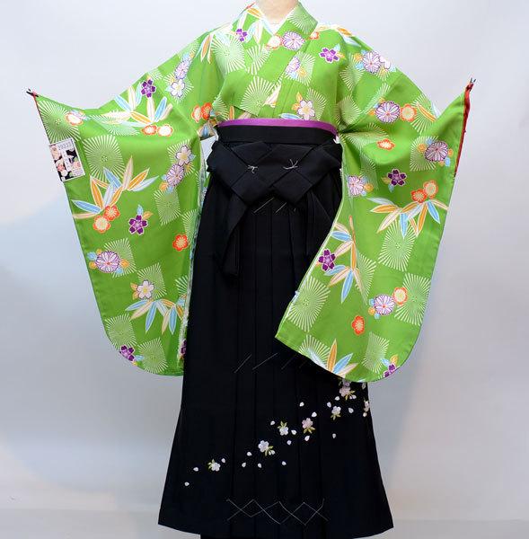 着物袴セット ジュニア用へ直し144cm~150cm 百花斉放 新品(株)安田屋 b345434607