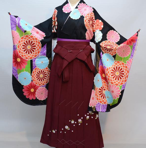 着物袴セット ジュニア用へ直し135cm~143cm From KYOTO 袴変更可能 新品(株)安田屋 b353382846