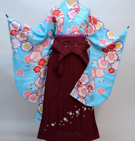 着物袴セット ジュニア用へ直し144cm~150cm 百花斉放 新品(株)安田屋 n308291629