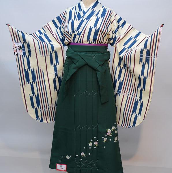 着物袴セット ジュニア用へ直し 135cm~143cm 京のちたる 新品(株)安田屋 w284224636