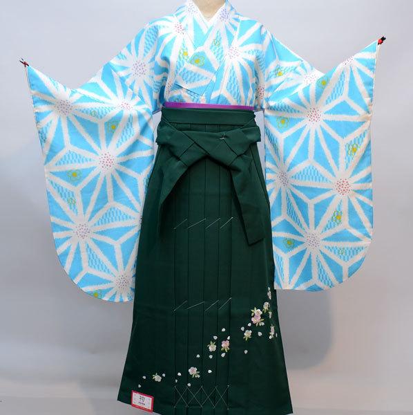 着物袴セット ジュニア用へ直し 135cm~143cm 百花繚乱 新品(株)安田屋 j541940255