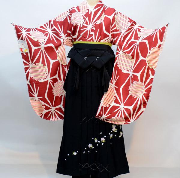 着物袴セット ジュニア用 145cm~154cm 京のちたる 袴変更可能 卒業式にどうぞ! 新品 (株)安田屋 l498440919