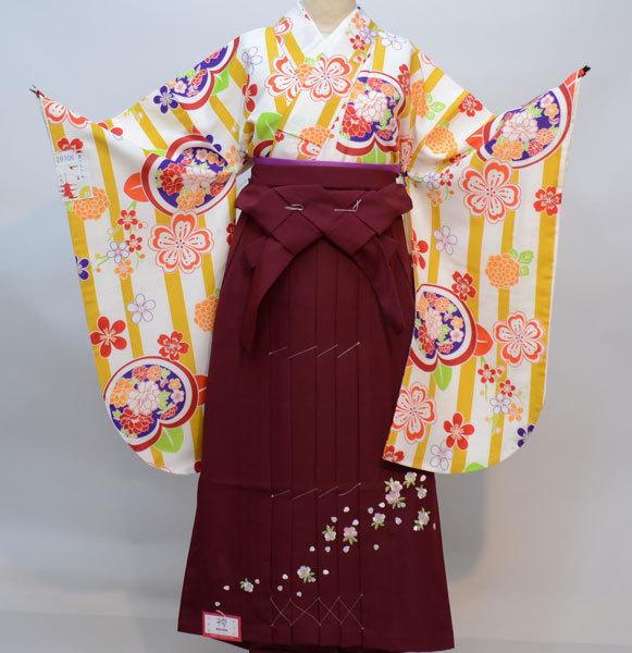 着物袴セット ジュニア用 145cm~154cm 京のちたる 袴変更可能 卒業式にどうぞ! 新品 (株)安田屋 p661017633