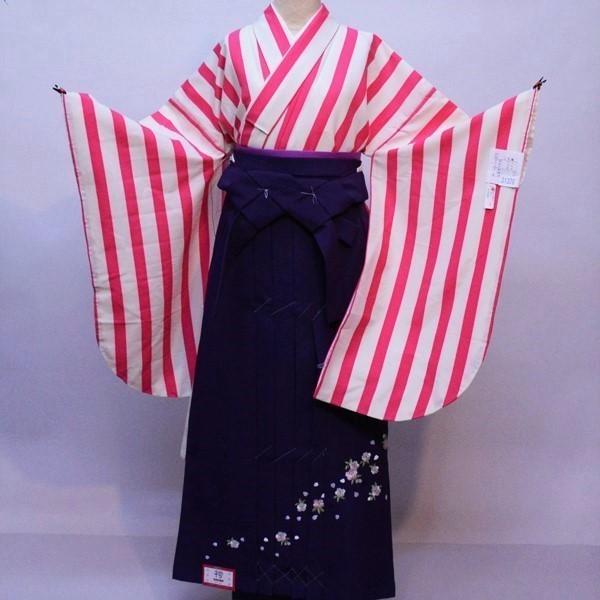 二尺袖 着物 袴フルセット 着物生地は日本製 縫製と袴は海外 袴変更可能 着物丈はショート丈 新品(株)安田屋 l537597167