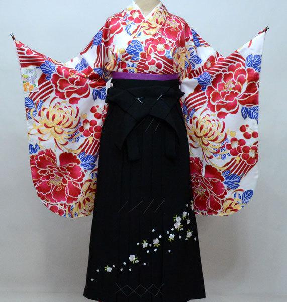 二尺袖 着物 袴フルセット 和遊日 袴変更可能 卒業式 新品(株)安田屋 k415325434