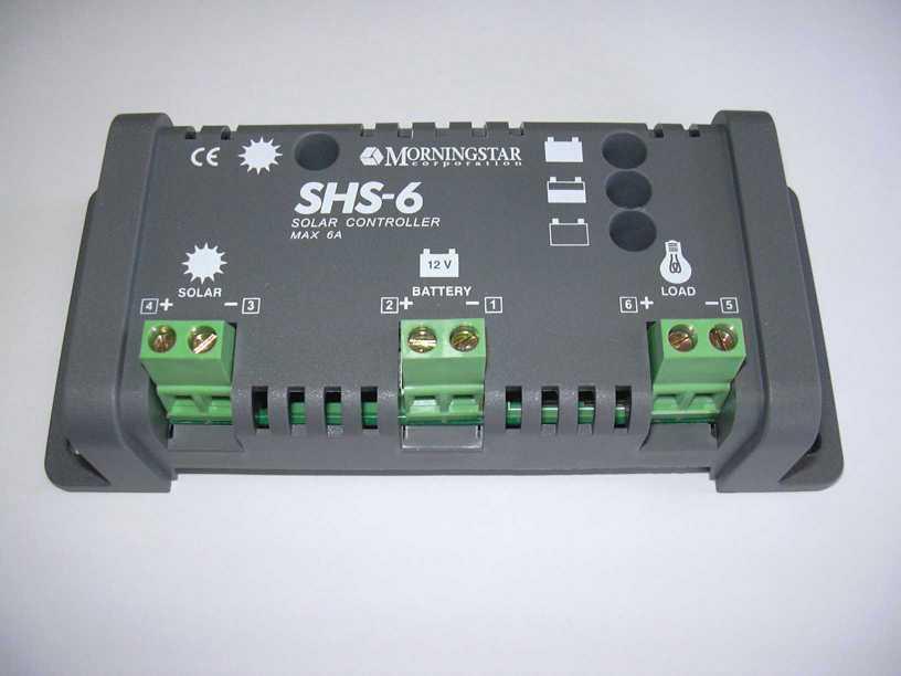 SHS-6L:太陽電池用充放電コントローラー