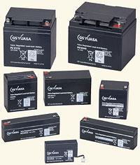PE12V24A:シール型ポータラック鉛蓄電池(ジーエス・ユアサ)