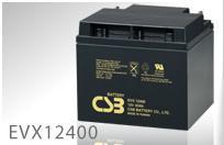 EVX12400:小形制御弁式密閉形鉛蓄電池(12V-40Ah)CSBバッテリー