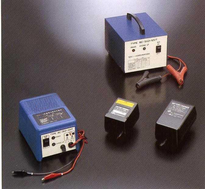 ユアサNPシリーズ専用充電器(BC-7A1-6VT)