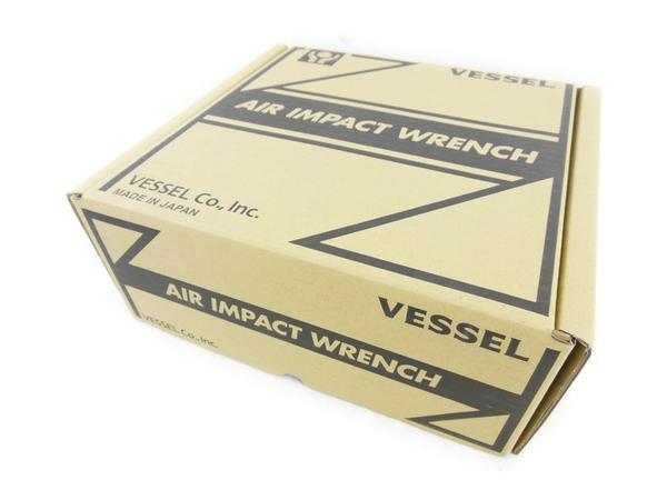 未使用 【中古】 VESSEL エアインパクトレンチ GT3900VP 工具 軽量 N2325996