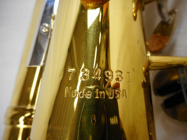 CONN 21M alto saxophone wind instrument wind instrument S2919762 which  there is used reason in