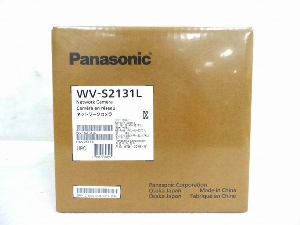 未使用 【中古】 Panasonic パナソニック WV-S2131L ネットワーク カメラ 防犯カメラ 屋内 ドームカメラ O3241274