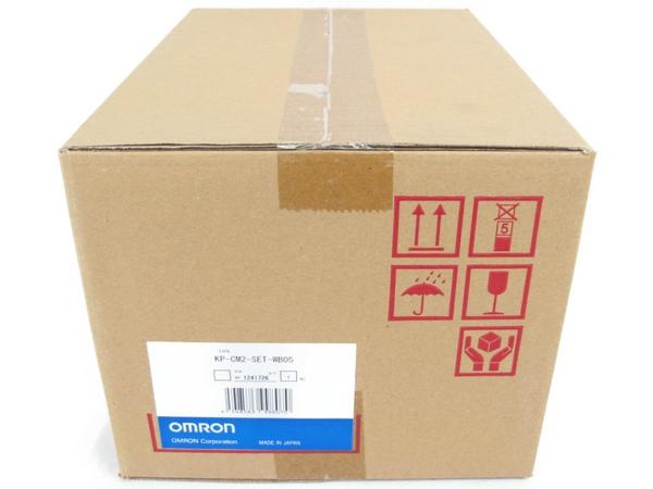 未使用 【中古】 オムロン カラー表示器 計測器 KP-CM2-SET-WB05 発電量チェック N3384927