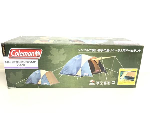 未使用 【中古】コールマン BC クロスドーム 270 ベーシックドームテント K4912909