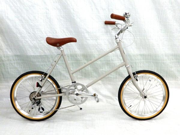 美品 【中古】 20-7S-L2016 SM20 自転車 ミニベロ 楽直 Y3230630