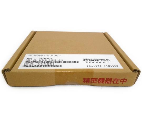 未使用 【中古】 富士通 FUJITSU サーバー用メモリ 8GB 2133RDIMM ×1PY-ME08SB N2375025