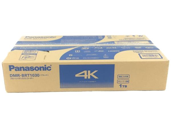 春夏新作モデル 新品 【】 Panasonic おうちクラウドディーガ DMR-BRT1030 1TB ブルーレイレコーダー N3816264, edge home 022322fa