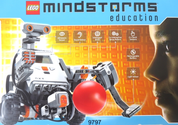 Unused Lego Lego Mindstorms Education NXT Base Set 9797 Lego mind storm  cognitive education toy computer program robot manufacture block toy  M3770509