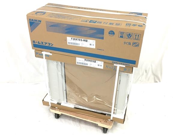 未使用 【中古】 DAIKIN F28XTES-W R28XES ルームエアコン 室外機 セット ダイキン W5162868
