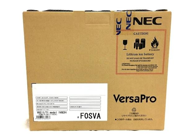 未使用 【中古】 NEC VersaPro PC-VKE11T1V8E91 Celeron N3350 1.1GHz 10.1型 Win 10 Pro SSD 64GB 4GB ノートパソコン PC  T3904588