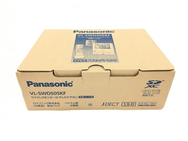 未使用 【中古】 Panasonic ワイヤレスモニター付 テレビドアホン 電源コード式 VL-SWD505KF パナソニック T3782895