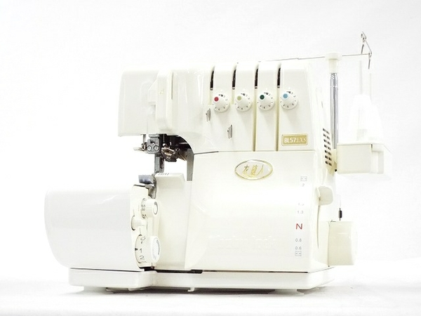 【中古】 JUKI ジューキ babylock 衣縫人 BL57EXS ロックミシン 2本針 4本糸 箱あり T3357845