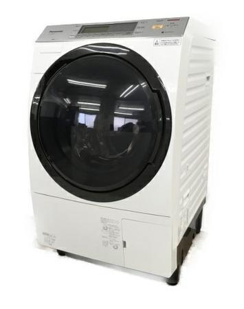 【中古】 Panasonic NA-VX7600R-W ドラム式 洗濯機 クリスタルホワイト パナソニック 家電【大型】 W3869902