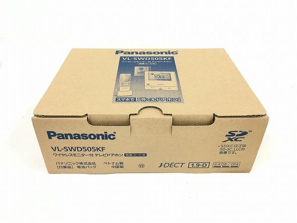未使用 【中古】 Panasonic ワイヤレスモニター付 テレビドアホン 電源コード式 VL-SWD505KF パナソニック T3782901