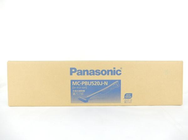 未使用 【中古】 Panasonic パナソニック MC-PBU520J コードレススティック掃除機 紙パック式 家電 Y3542506