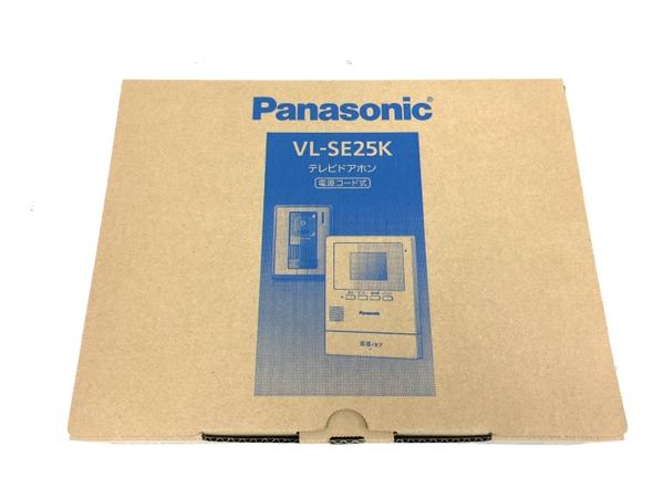 未使用 【中古】 未使用 Panasonic VL-SE25K テレビ ドアホン 電源コード式 家電 パナソニック O5111364