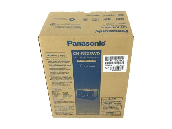 未使用 【中古】 Panasonic Strada ストラーダ 7型 カーナビ CN-RE05WD N3915354