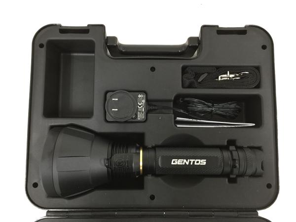 未使用 【中古】未使用 GENTOS UT-1000M UltiREX ハイパワー LED充電式 フラッシュライト 懐中電灯 ジェントス O4854282
