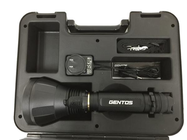 未使用 【中古】 未使用 GENTOS UT-1000M UltiREX ハイパワー LED充電式 フラッシュライト 懐中電灯 ジェントス O4854283