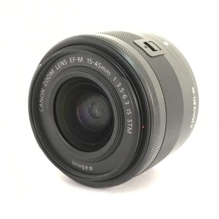 【中古】 Canon キャノン EF-M 15-45mm 3.5-6.3 IS STM レンズ カメラ 趣味 機器 Y3906804