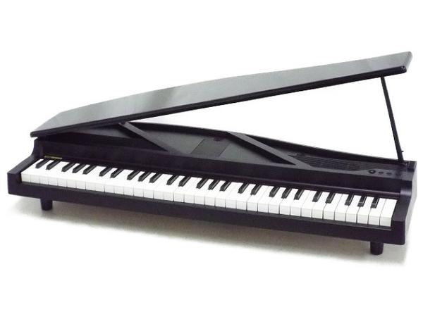 【中古】 KORG MICROPIANO マイクロ 電子ピアノ ミニ鍵盤61鍵 ブラック 2015年製 楽器 コルグ T5122274