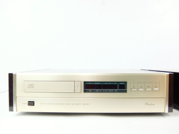 Accuphase DP-80 DC-81 CD player DA Converter set Y1713164